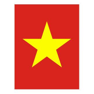 Flag of Vietnam - Quốc kỳ Việt Nam Postcard