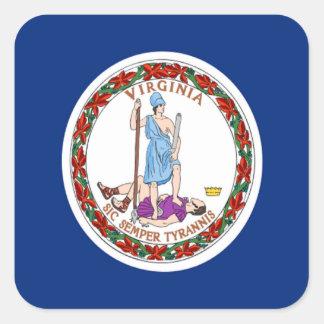 Flag of Virginia Sticker