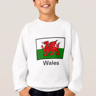 Flag of Wales Sweatshirt
