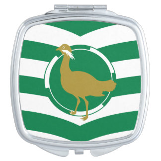 Flag of Wiltshire County, England Compact Mirror