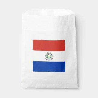 Flag: Paraguay Favour Bags
