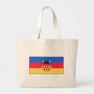 Flag_Transylvania_History Large Tote Bag