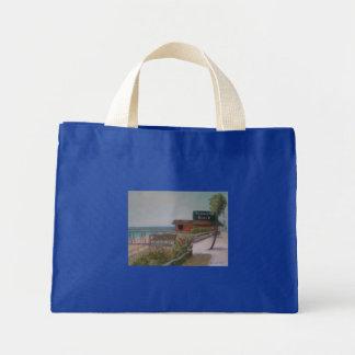 FLAGLER BEACH Poster Mini Tote Bag