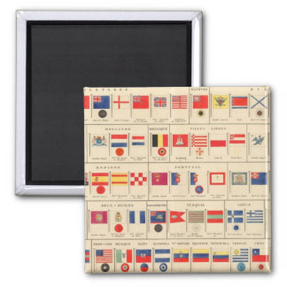 Flags Badges Magnet