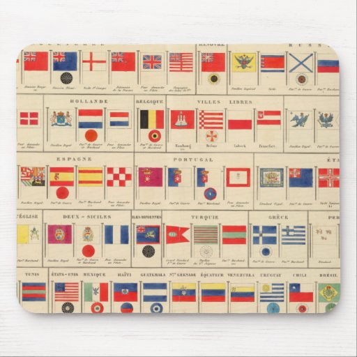 Flags, Badges Mouse Pads