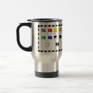 'Flags' by Flagman Stainless Steel Travel Mug