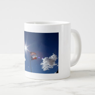 Flags 20 Oz Large Ceramic Coffee Mug