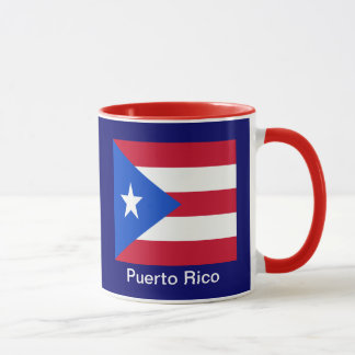 Flags of Puerto Rico Mug