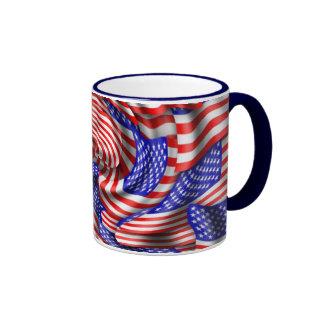 Flags Ringer Mug