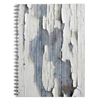 Flaky Paint Photo Notebook