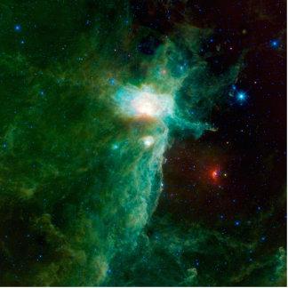 Flame Nebula NASA Standing Photo Sculpture