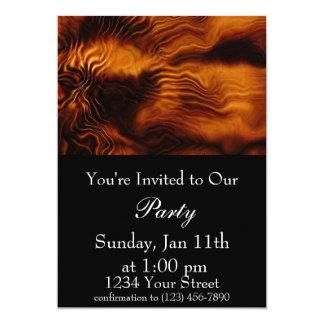 """Flame Party 3 Invite 5"""" X 7"""" Invitation Card"""