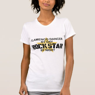Flamenco Dancer Rock Star by Night T Shirts