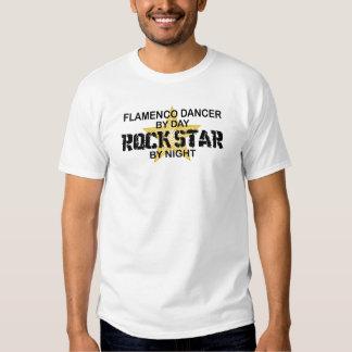 Flamenco Dancer Rock Star by Night Tee Shirts