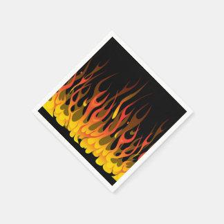 Flames Napkins Paper Napkin