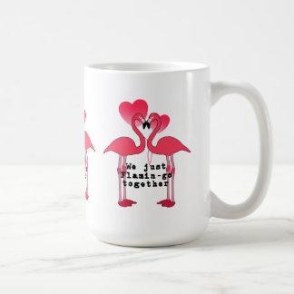 Flamin-go Together Valentine's Day Mug