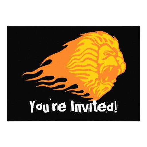 Flaming Lion #1 Custom Announcements
