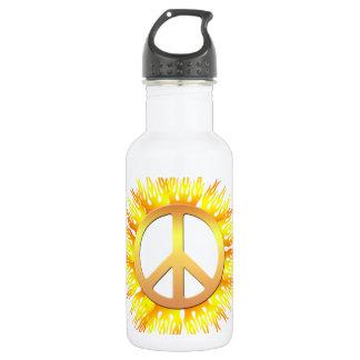 Flaming Peace 532 Ml Water Bottle