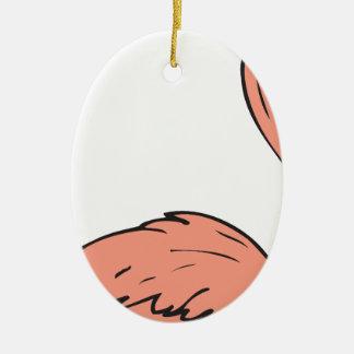 Flamingo #6 christmas ornament