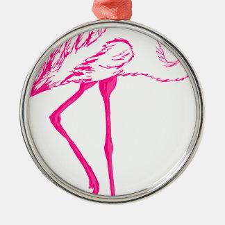 Flamingo #8 christmas ornament