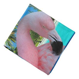 Flamingo and Beach Bandana