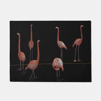 Flamingo Birds Doormat