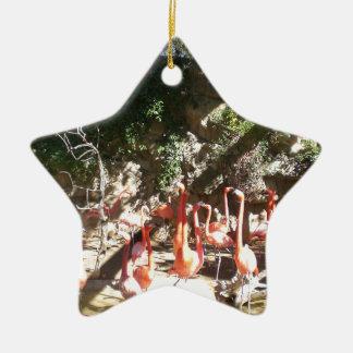 Flamingo Clan Christmas Ornament