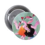 Flamingo Dance Pins