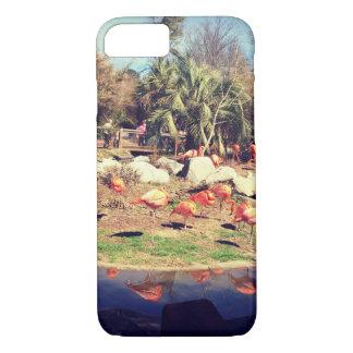 Flamingo Reflection iPhone 8/7 Case