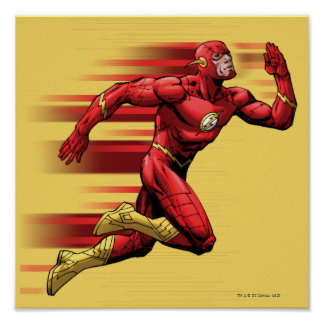 Flash Running Poster