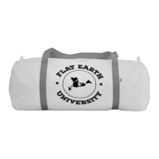 Flat Earth -- Gym Bag Gym Duffel Bag