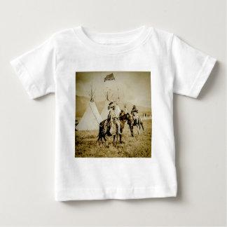 Flathead Indians Vintage Native American Warriors Baby T-Shirt