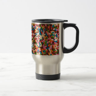 Flaunt your Sprinkles ! Stainless Steel Travel Mug