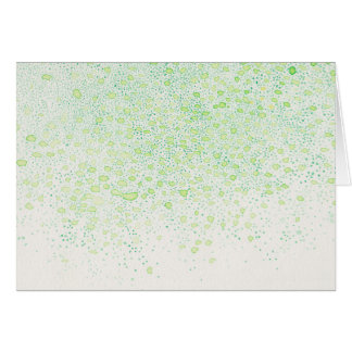 """""""Flavor of Young leaves"""" Blank message card"""
