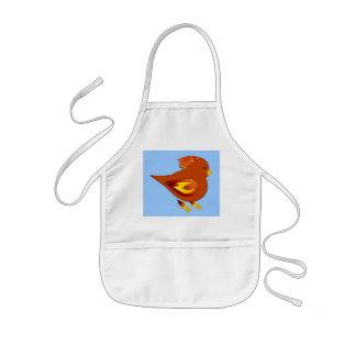 flawing kids' apron