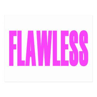 FLAWLESS POSTCARDS
