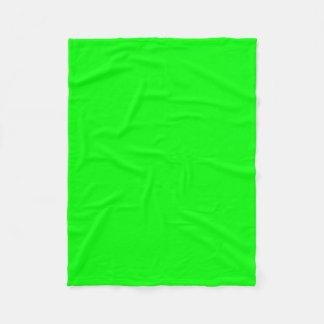 """Fleece Blanket 30""""x40"""" - Lime"""