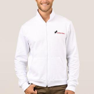 Fleece Jacke für Männer weiss Jacket