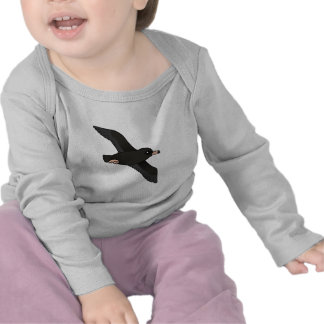 Flesh-footed Shearwater (flying) T Shirts
