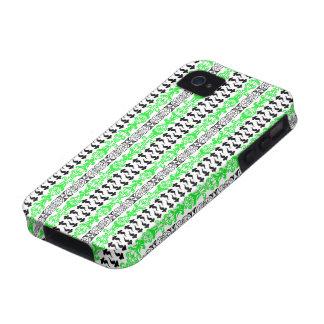 Fleur Custom 1 Green iPhone 4/4S Case