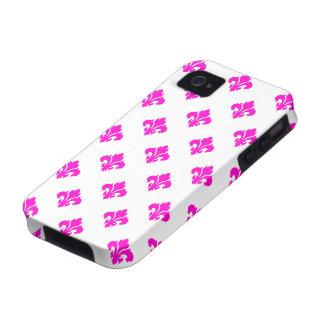 Fleur De Lis 1 Pink iPhone 4/4S Covers