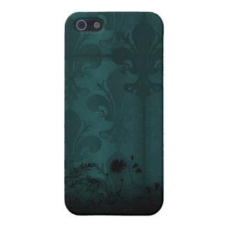 Fleur De Lis Cover For iPhone 5/5S