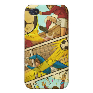 Flick Kick Football iPh4 Speck Case Case For iPhone 4