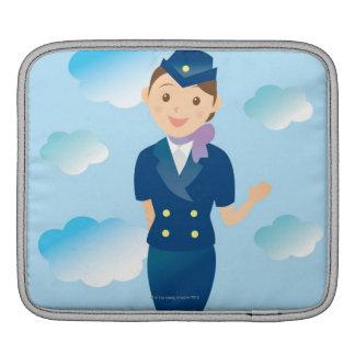 Flight Attendant iPad Sleeve