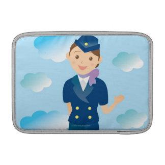 Flight Attendant MacBook Sleeve