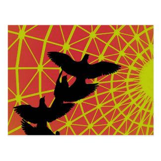 Flight into the Sun Postcard
