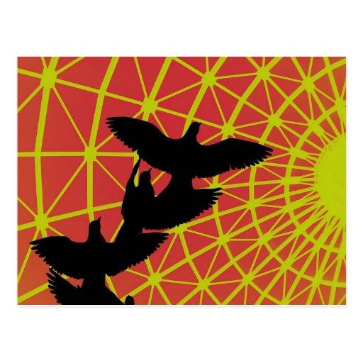 Flight into the Sun Postcards