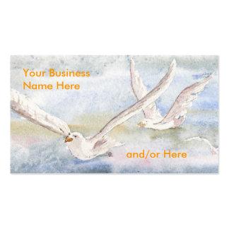 'Flight of the Gulls' Business Card