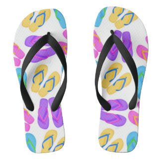 Flip flop pattern beach fun