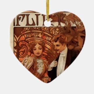 Flirt Christmas Ornament